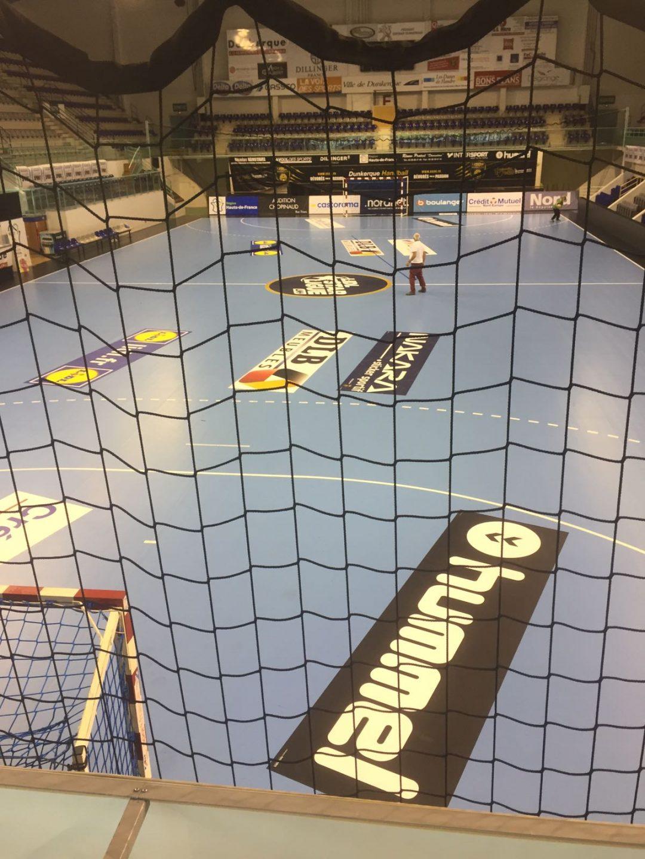 Adhésif repositionnable IND'n'GO pour terrain de handball – MHB